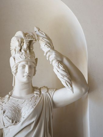 Statue of Minerva by Christian Friedrich Tieck in the Gentzian staircase