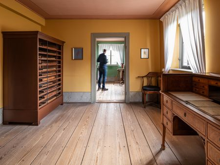Goethe's library room