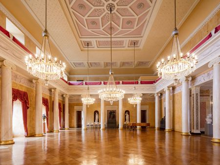 Ballroom of the Weimar City Castle