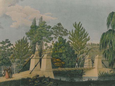 Coloured print: H. Steiner, ca. 1833