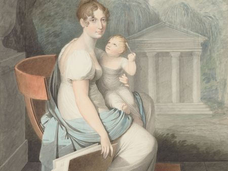 Josef Mathias Grassi, Female Artist with Child